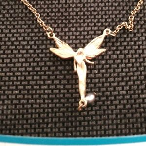 Fairy Necklace 16 Inch Gold Tone with 3 Inch Ext